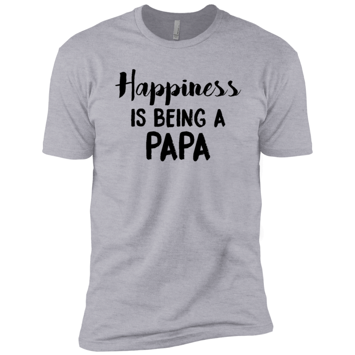 Happiness Is Being A Papa Men's Classic Tee