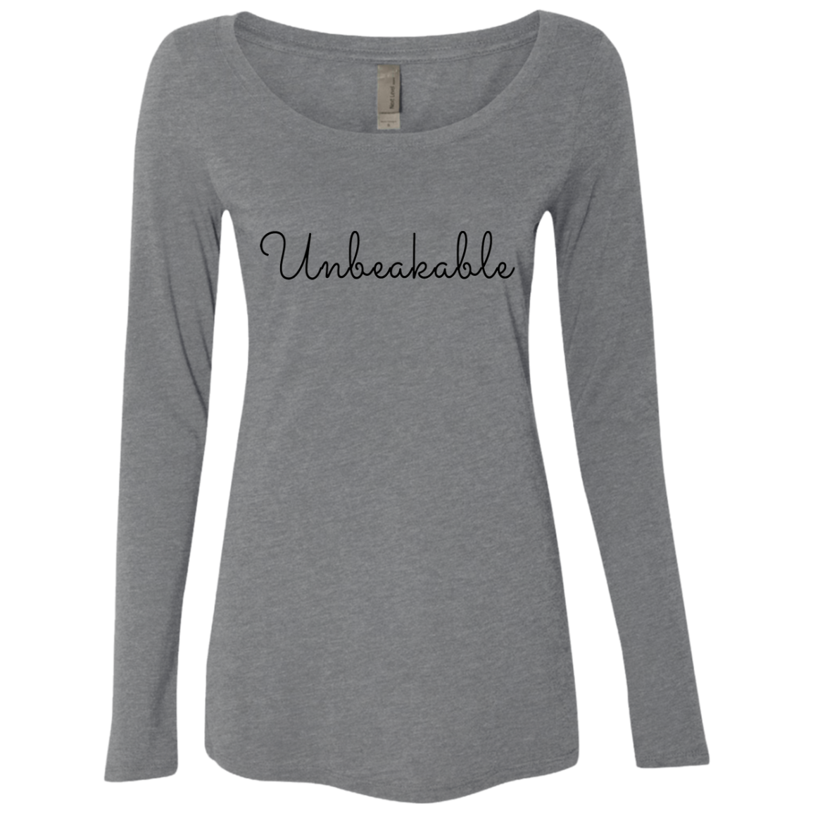 Unbreakable Women's Long Sleeve Tee