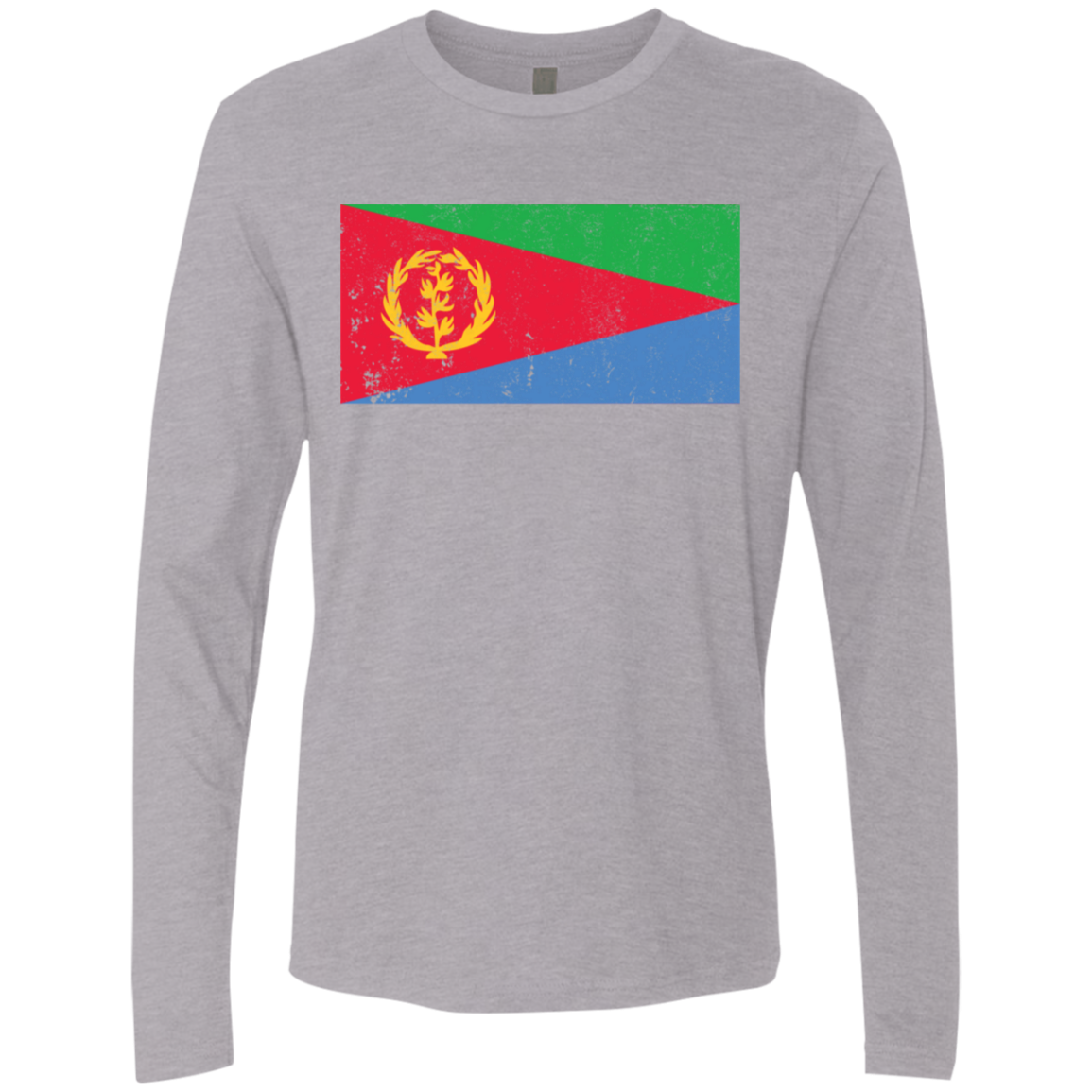 Eritrea Men's Long Sleeve Tee