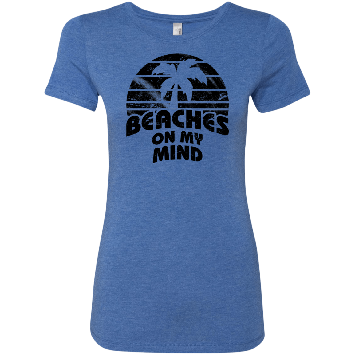 Beaches on my Mind Women's Classic Tee - Trendy Tees