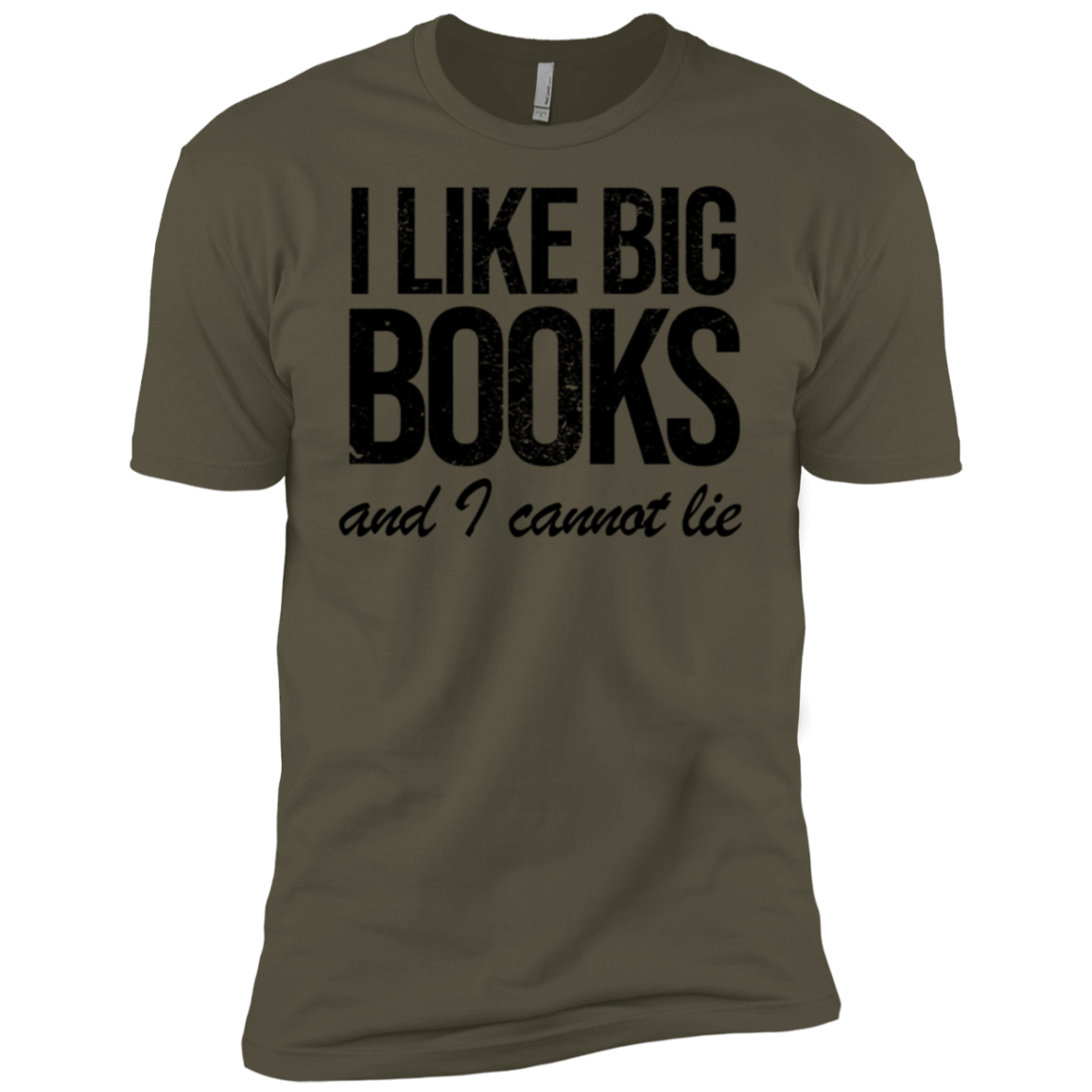 I Like Books And I Cannot Lie Men's Classic Tee
