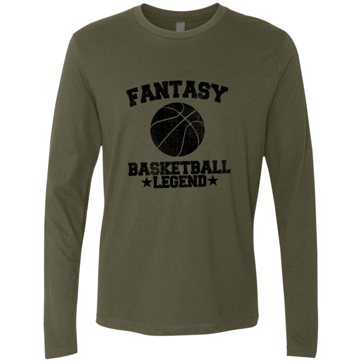 Fantesy Basketball Legend Men's Long Sleeve Tee