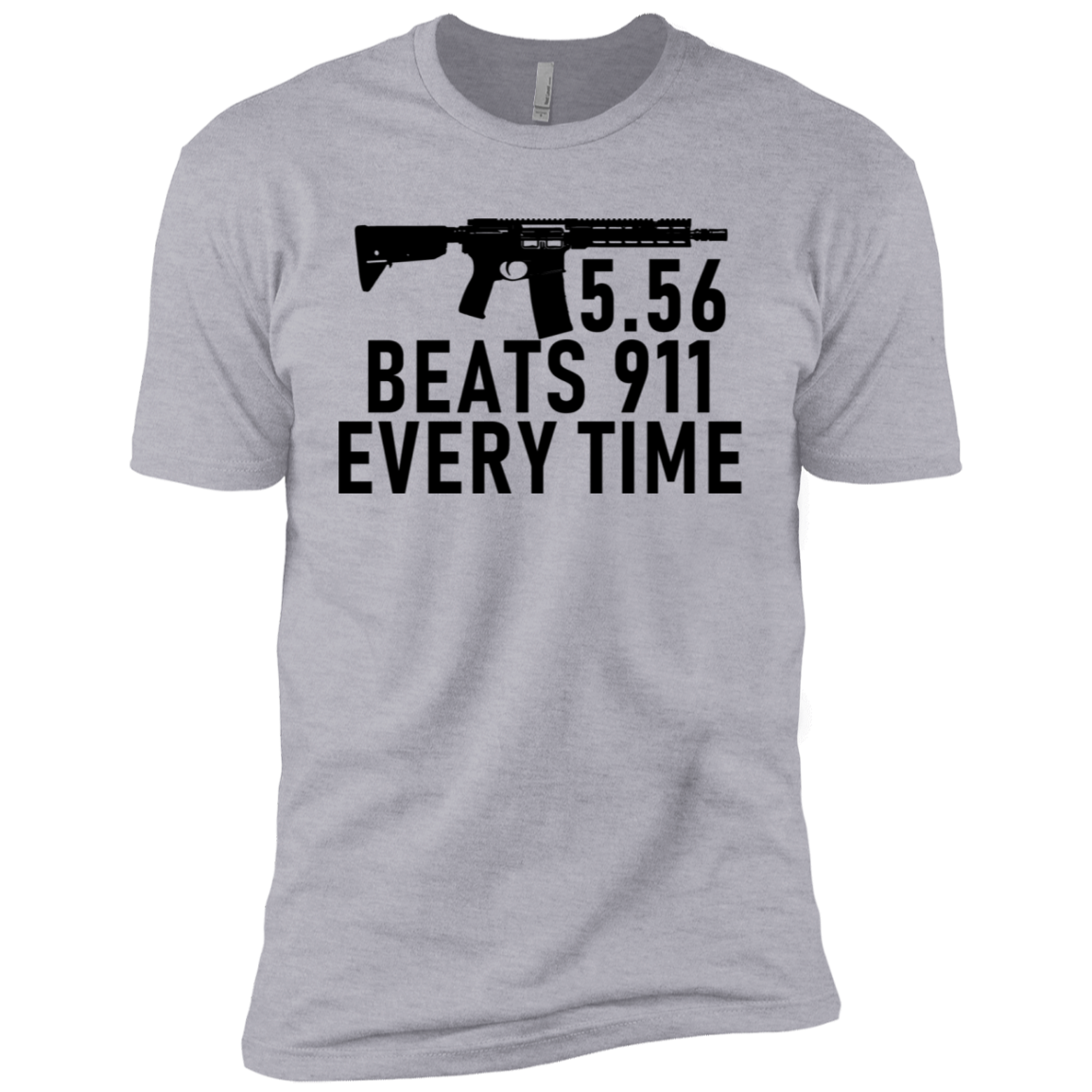 5.56 Beats 911 Every Time Men's Classic Tee