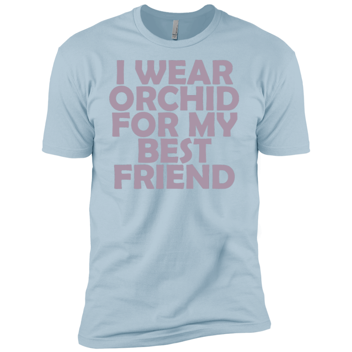 I Wear Orchid For My Best Friend Men's Classic Tee