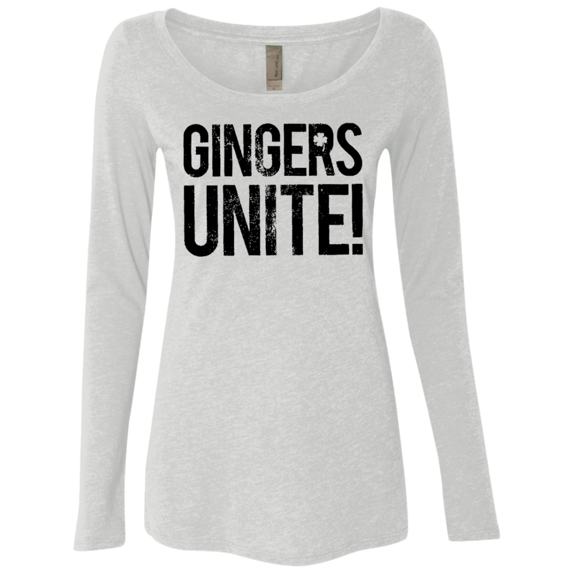 GINGERS UNITE! Women's Long Sleeve Tee