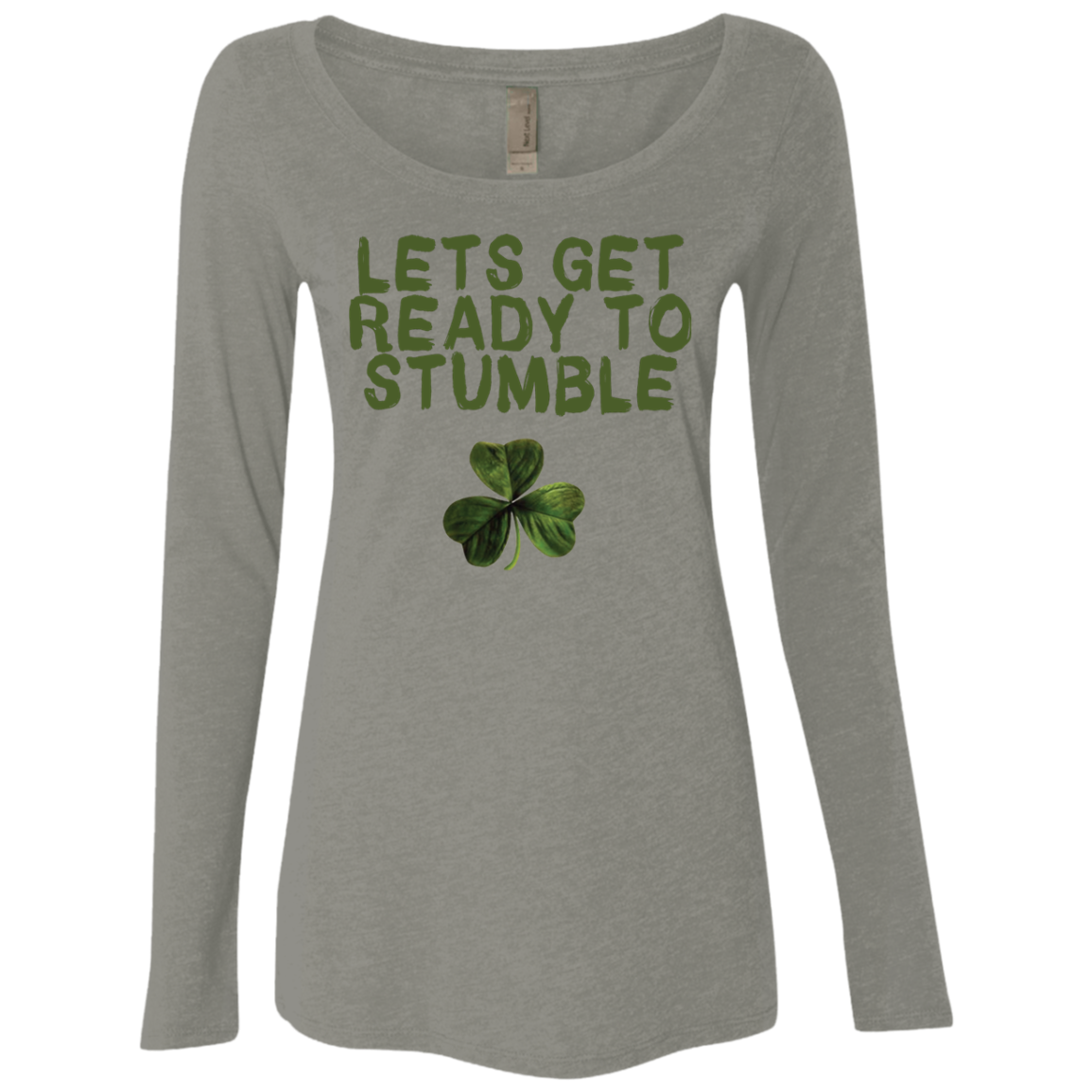 Let's Get Ready To Stumble Women's Long Sleeve Tee