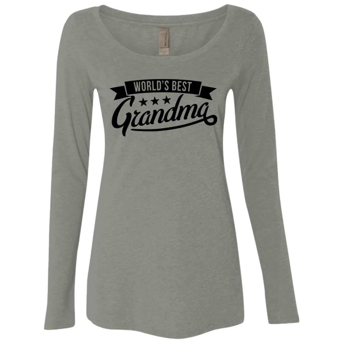 World's Best Grandma Women's Long Sleeve Tee