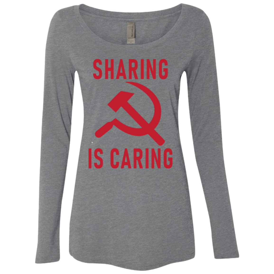 Sharing Is Caring Women's Long Sleeve Tee