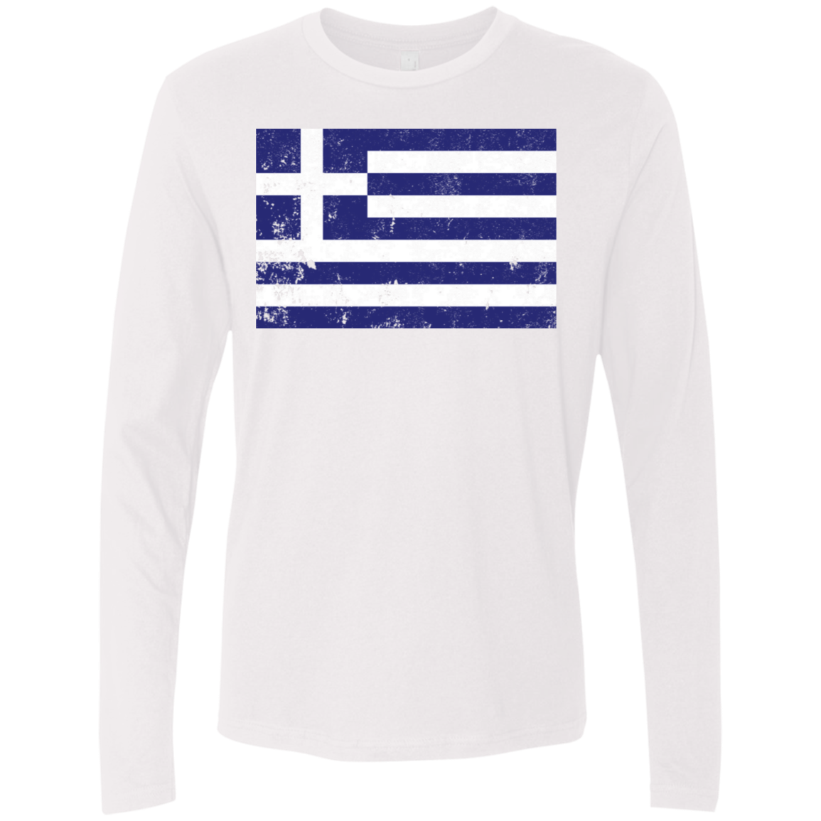 Greece Men's Long Sleeve Tee
