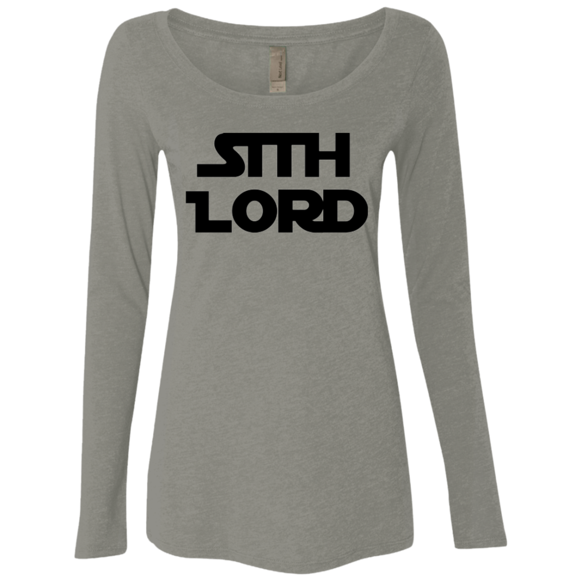 Sith Lord Star Wars Women's Long Sleeve Tee
