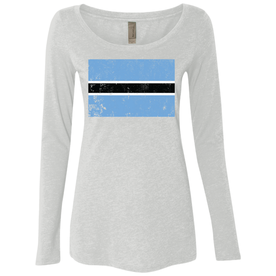 Botswana Women's Long Sleeve Tee