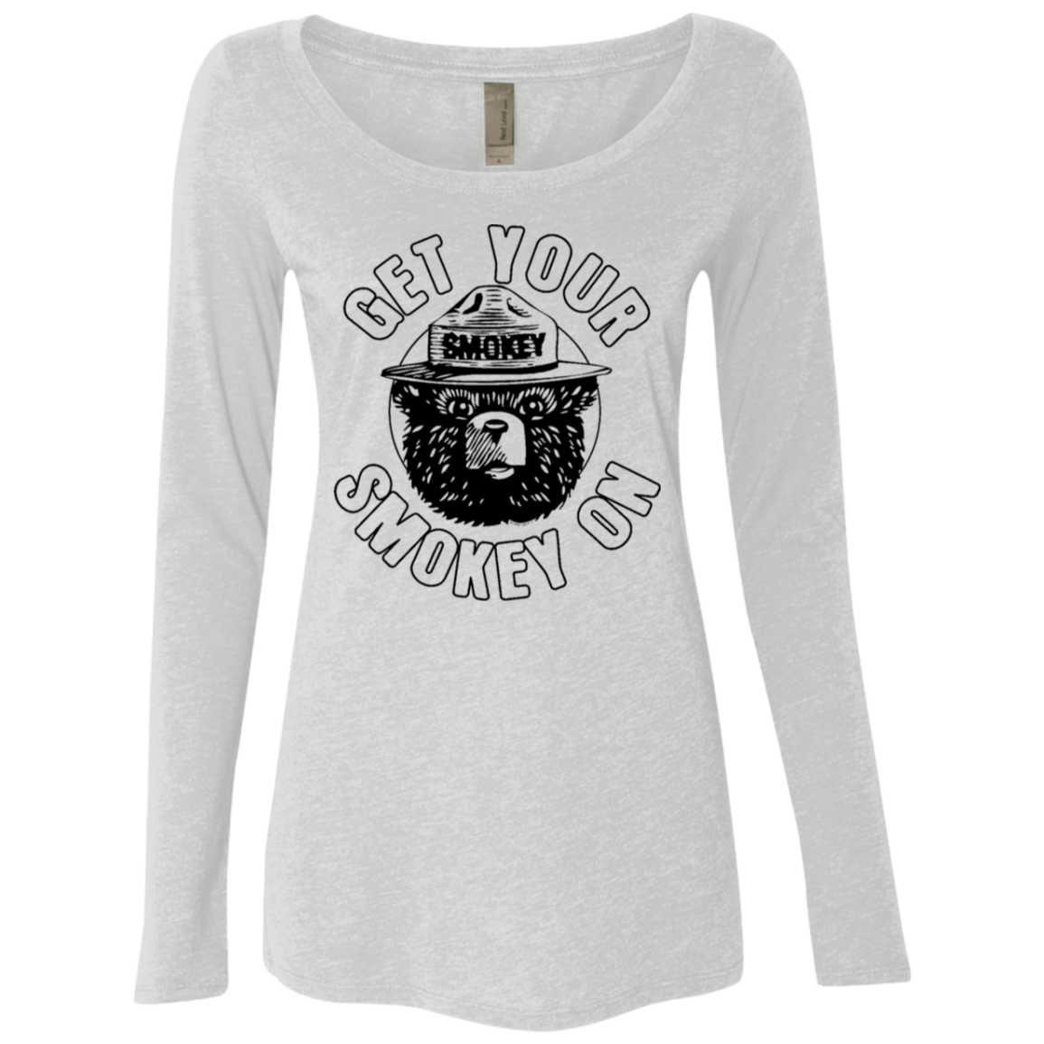 Get Your Smokey On Women's Long Sleeve Tee