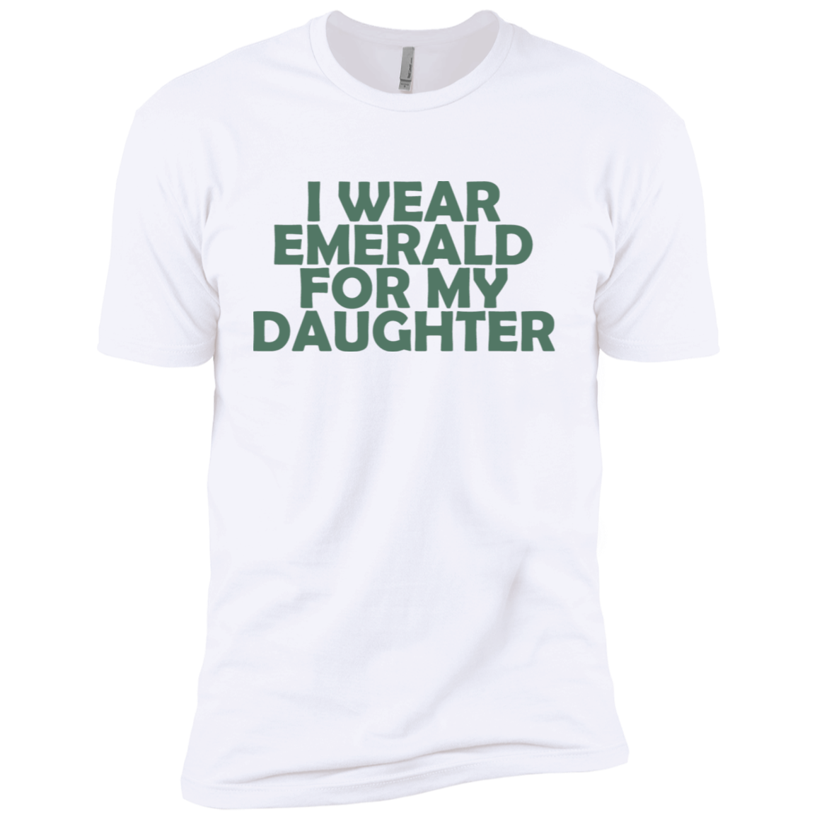 I Wear Emerald For My Daughter Men's Classic Tee