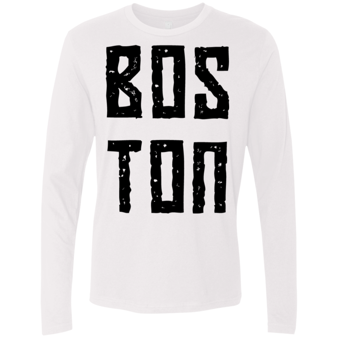 Boston Men's Long Sleeve Tee