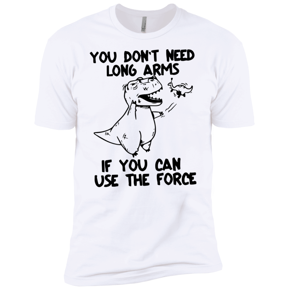 You don't need long arms if you can use the Force Star Wars Men's Classic Tee