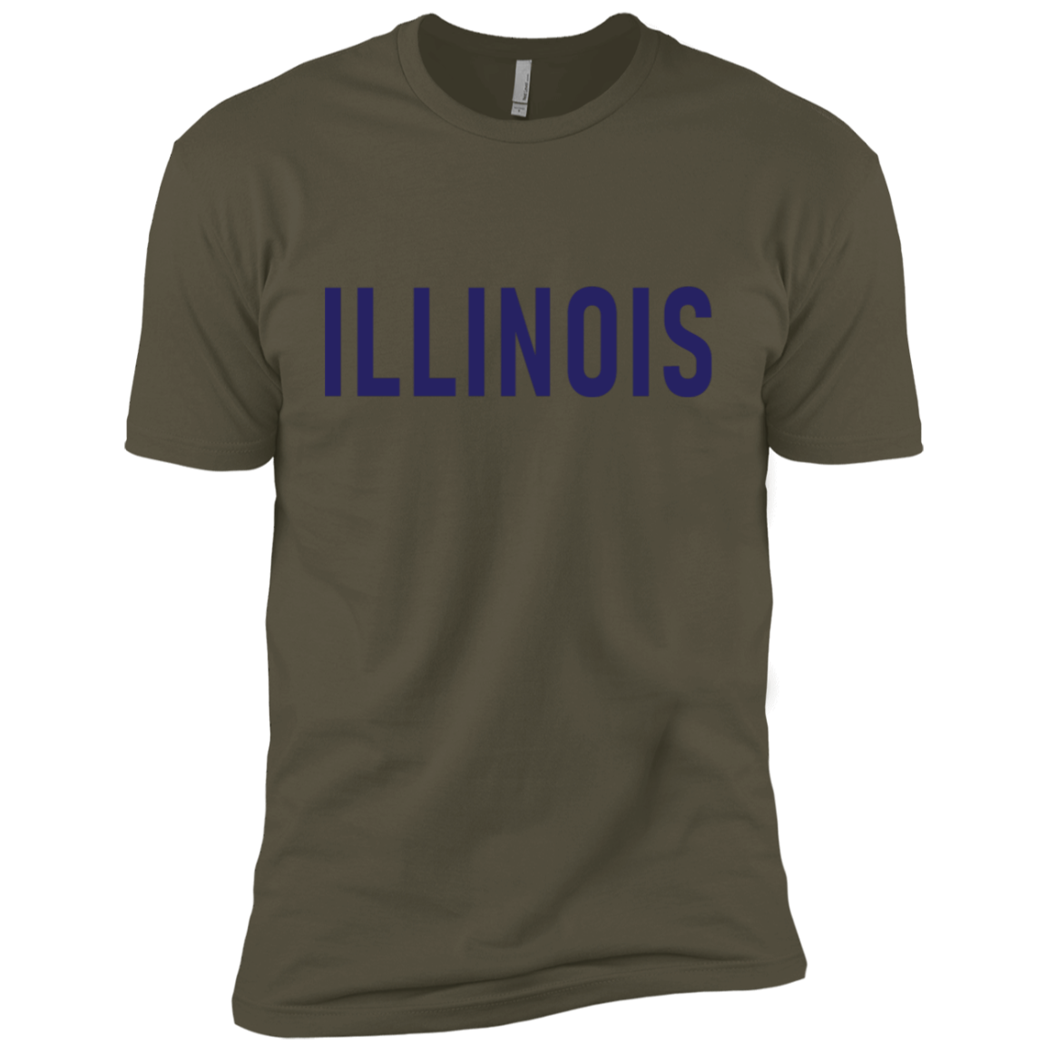 Illinois Blue Men's Classic Tee