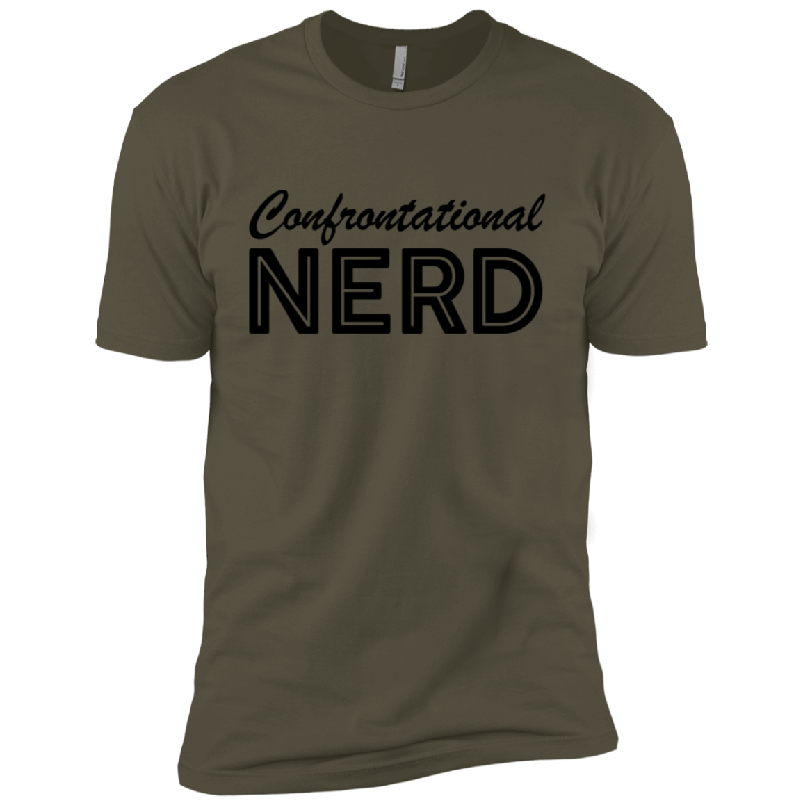 Confrontational Nerd Men's Classic Tee
