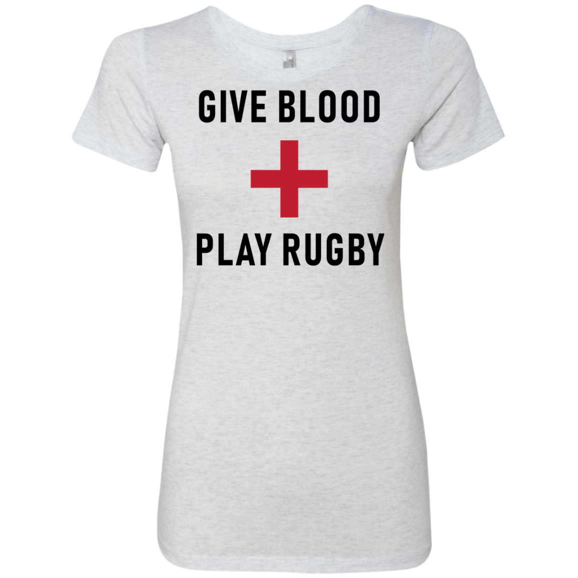 Give Blood Play Rugby Women's Classic Tee