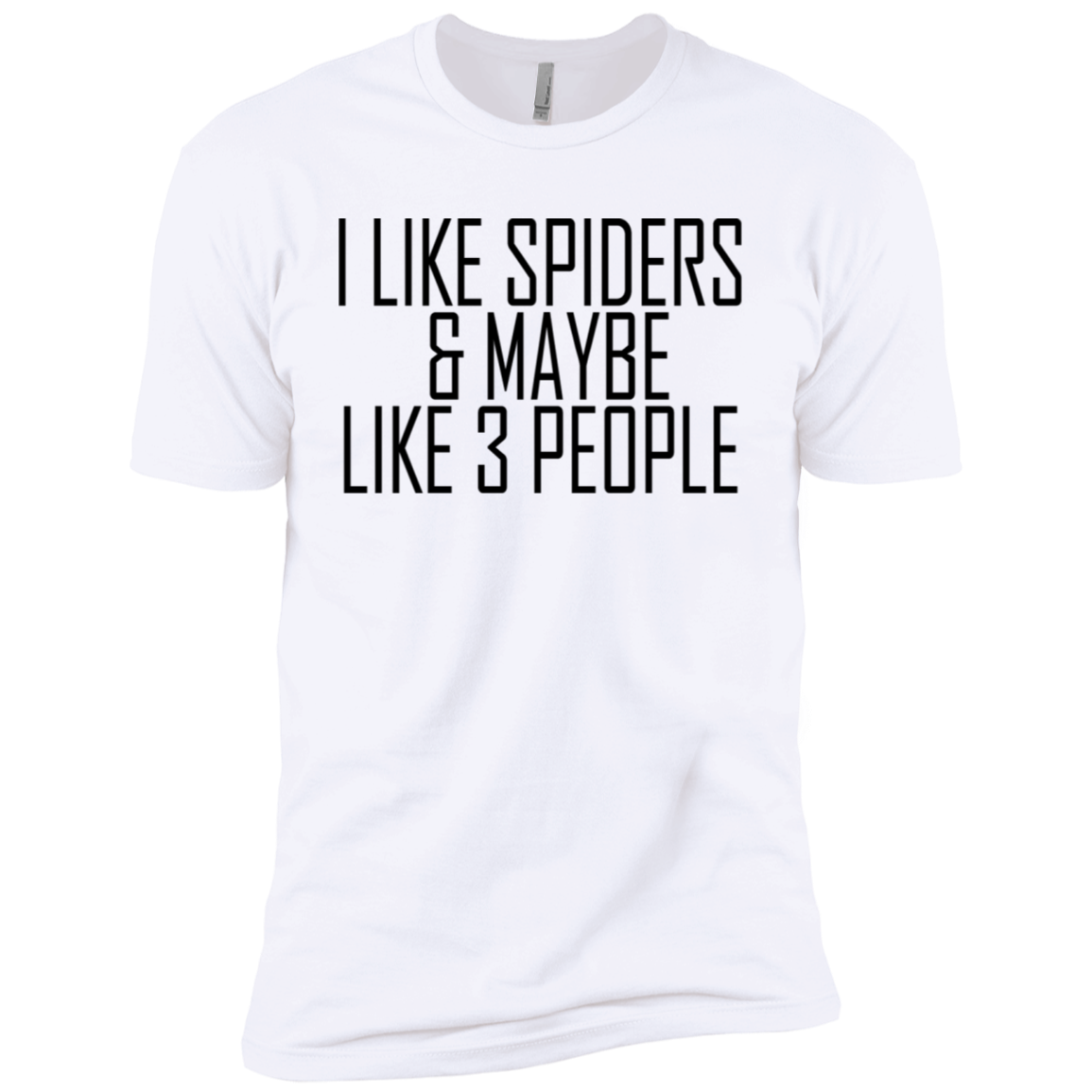 I Like Spiders ' Maybe 3 People Men's Classic Tee
