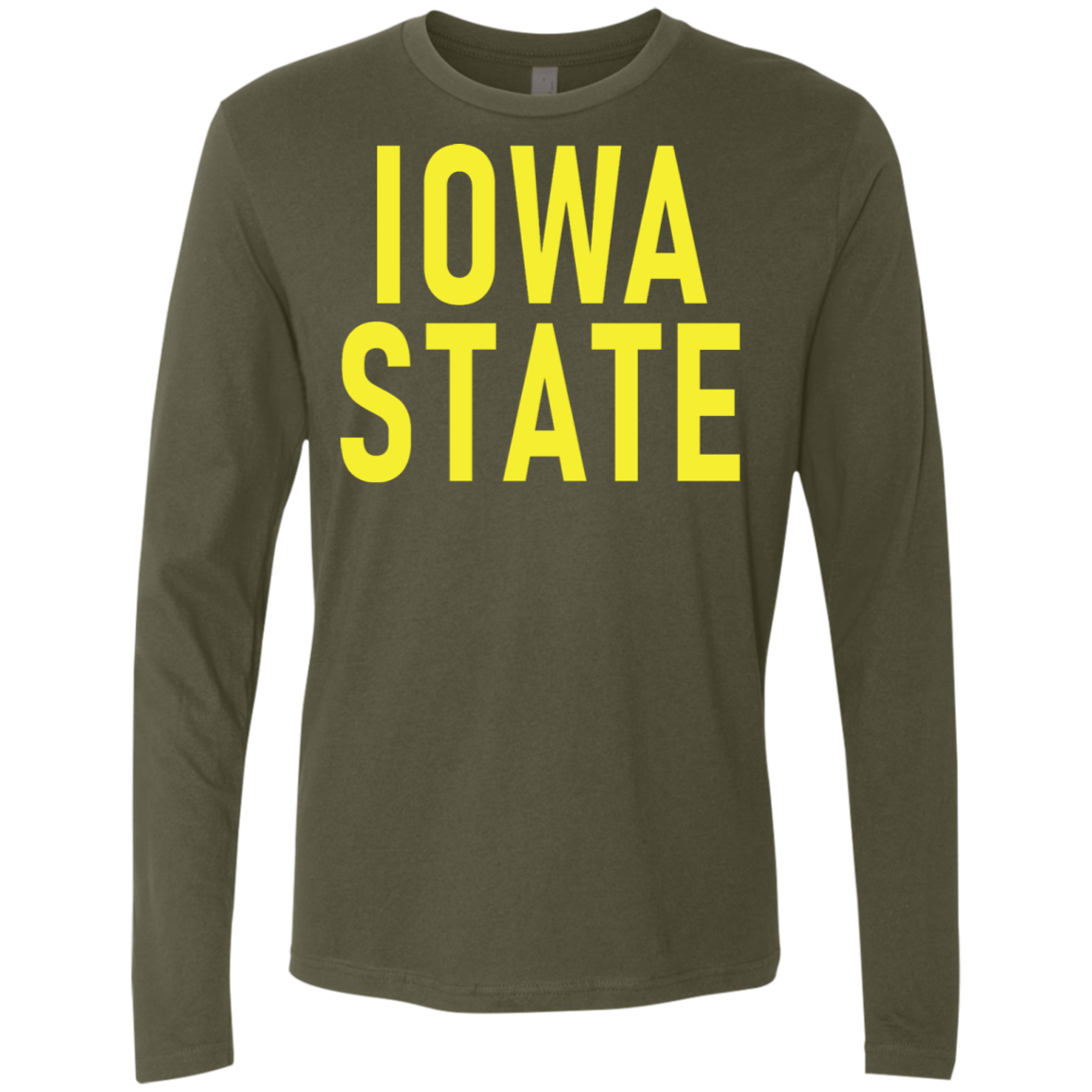 Iowa State Men's Long Sleeve Tee