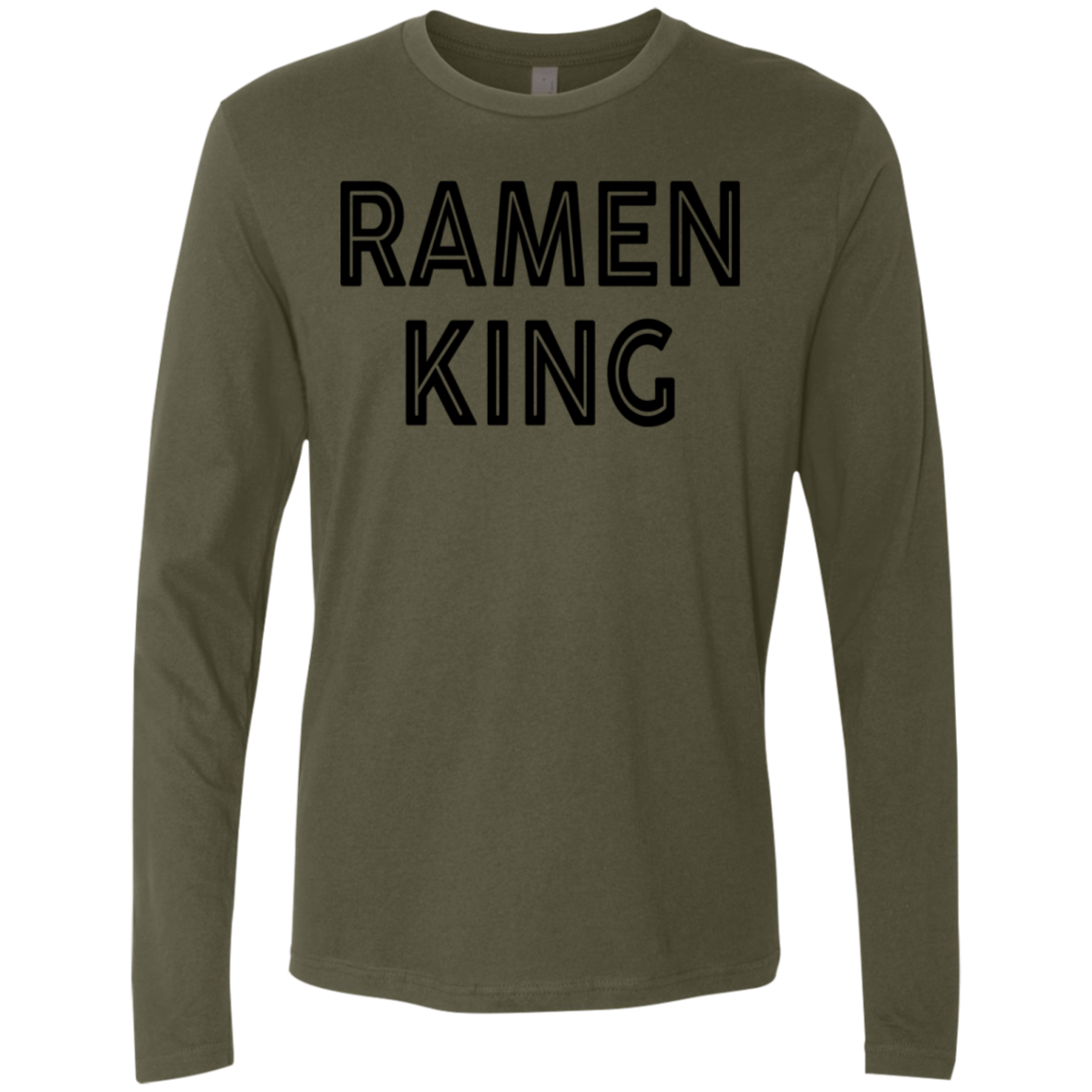 Ramen King Men's Long Sleeve Tee