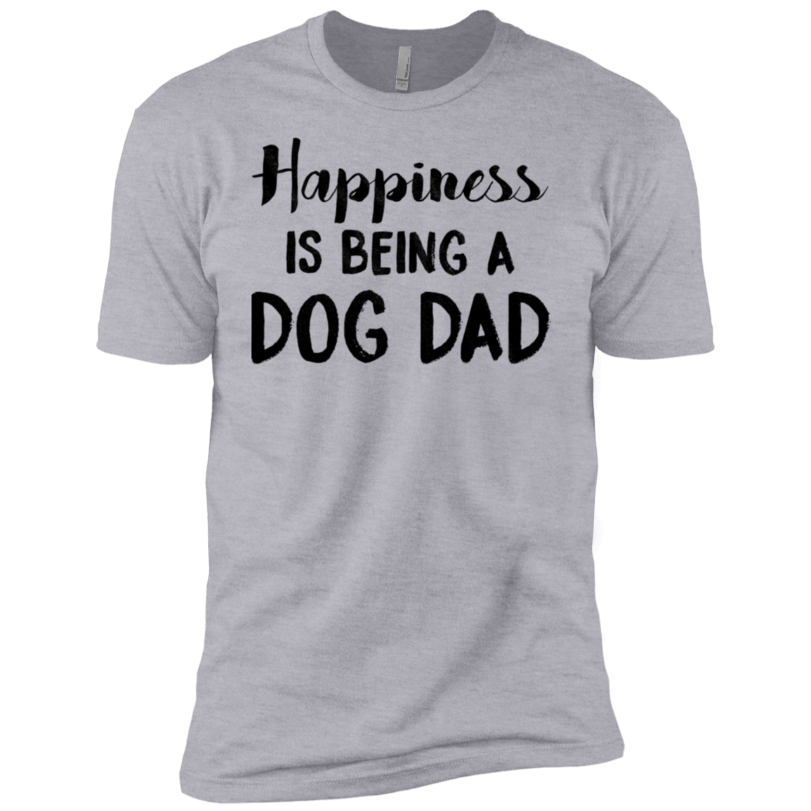 Happiness Is Being A Dog Dad Men's Classic Tee
