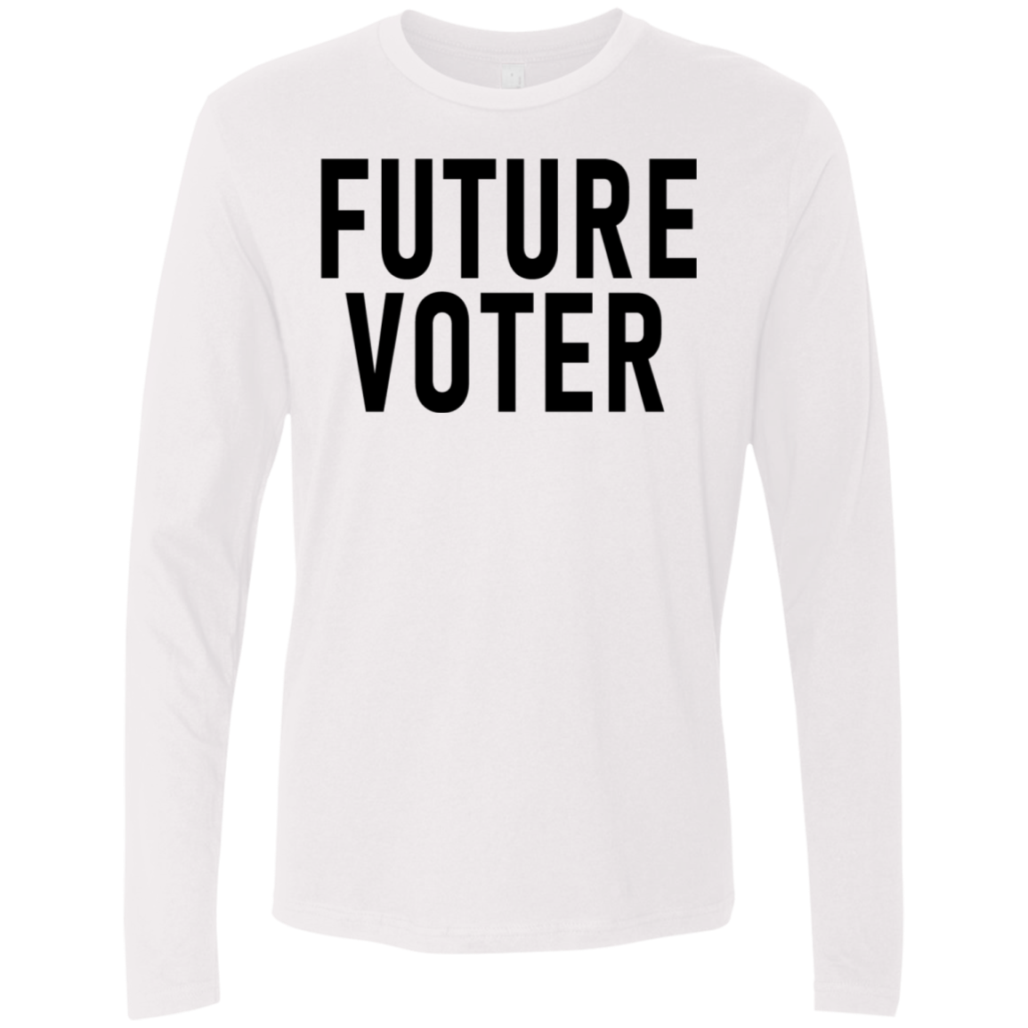 Future Voter Men's Long Sleeve Tee