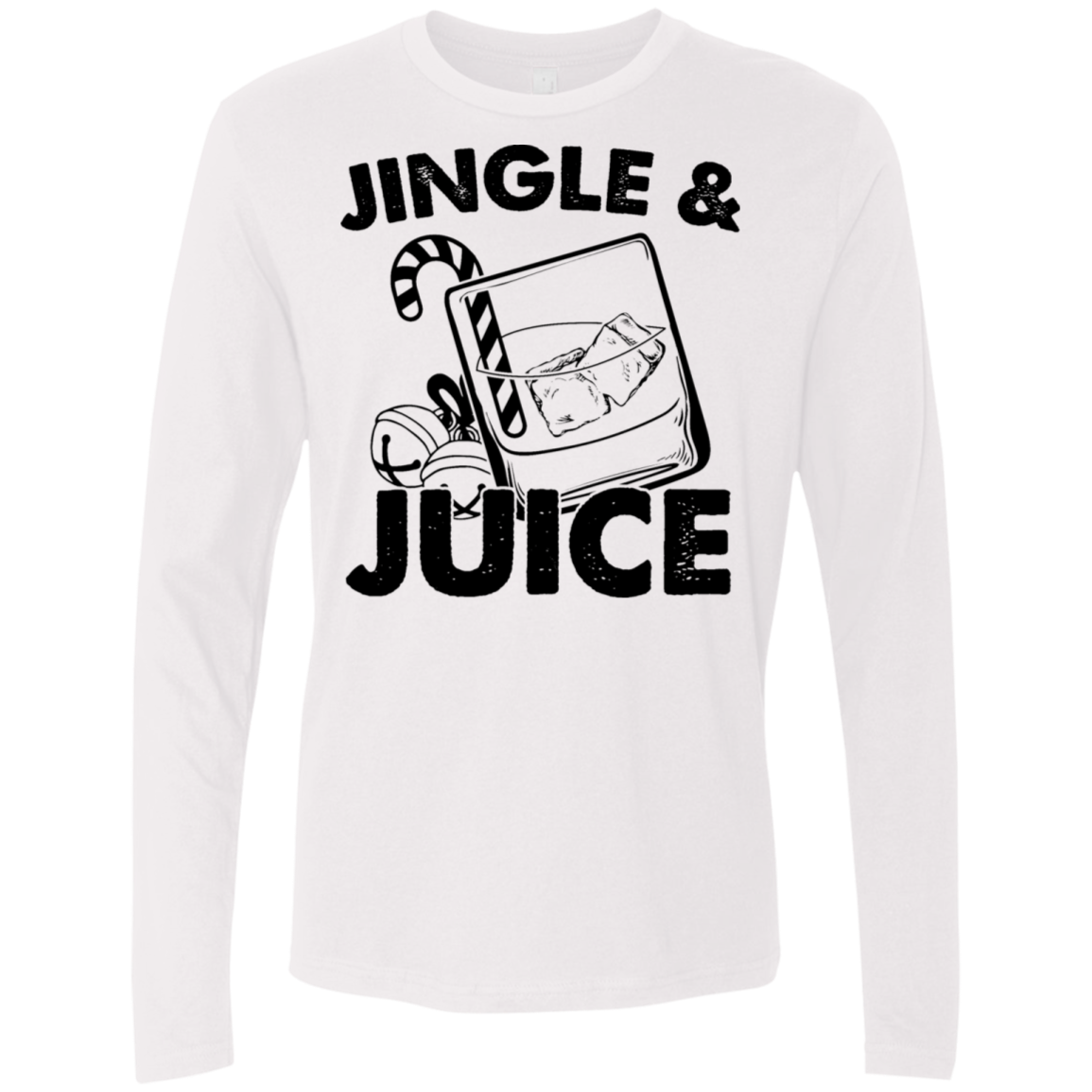 Jingle and Juice Men's Long Sleeve Tee