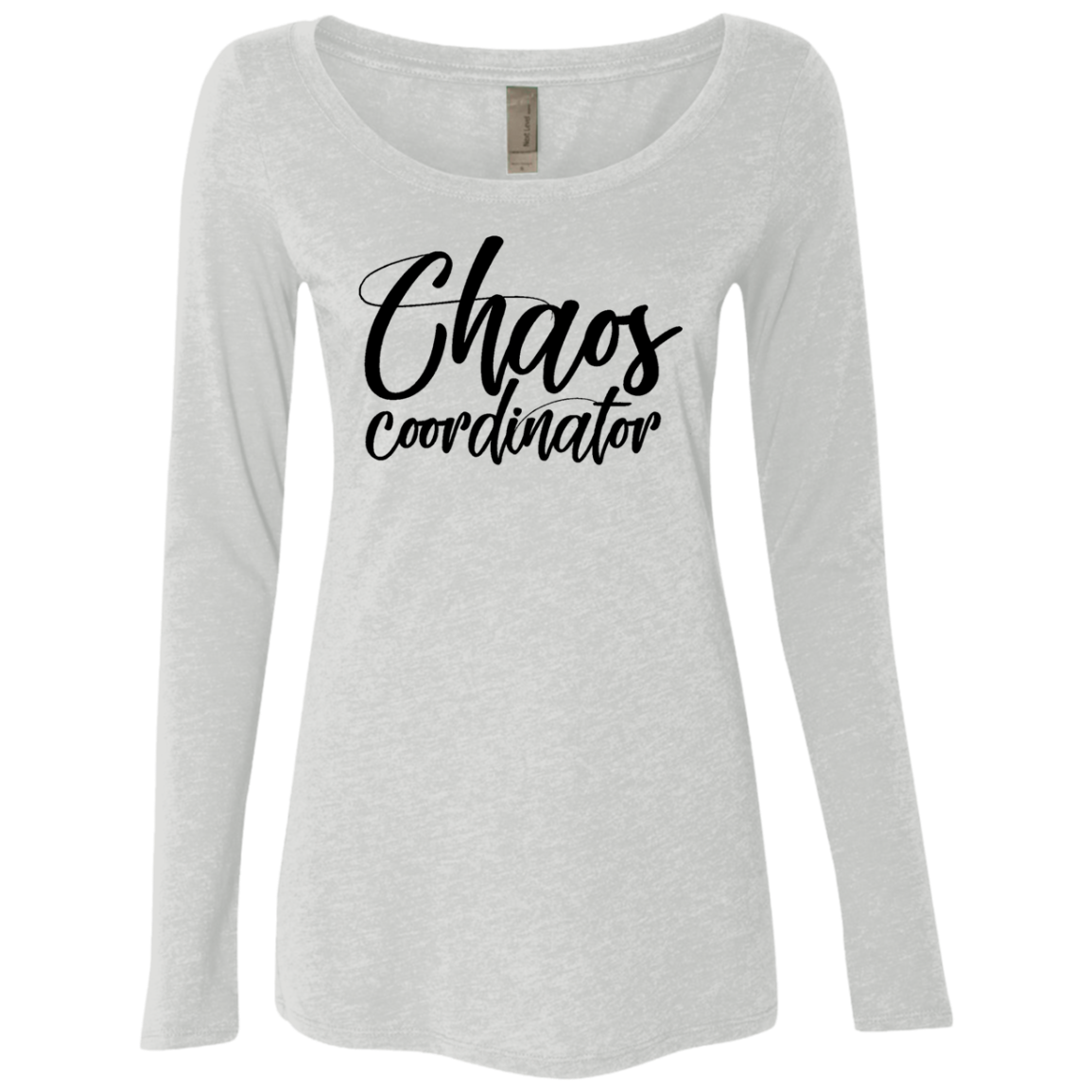 Chaos Coordinator Women's Long Sleeve Tee - Trendy Tees