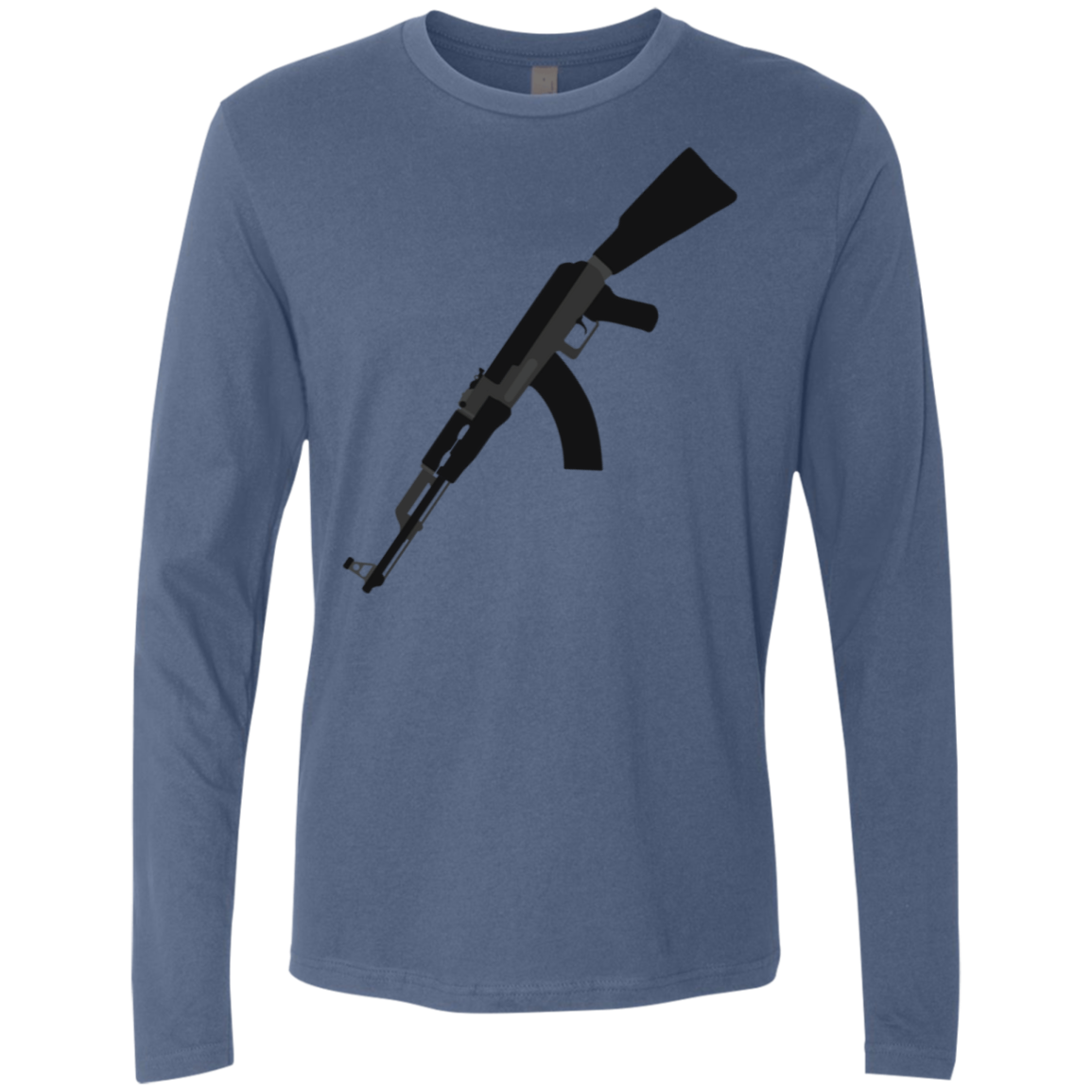 Inverted Rifle Men's Long Sleeve Tee