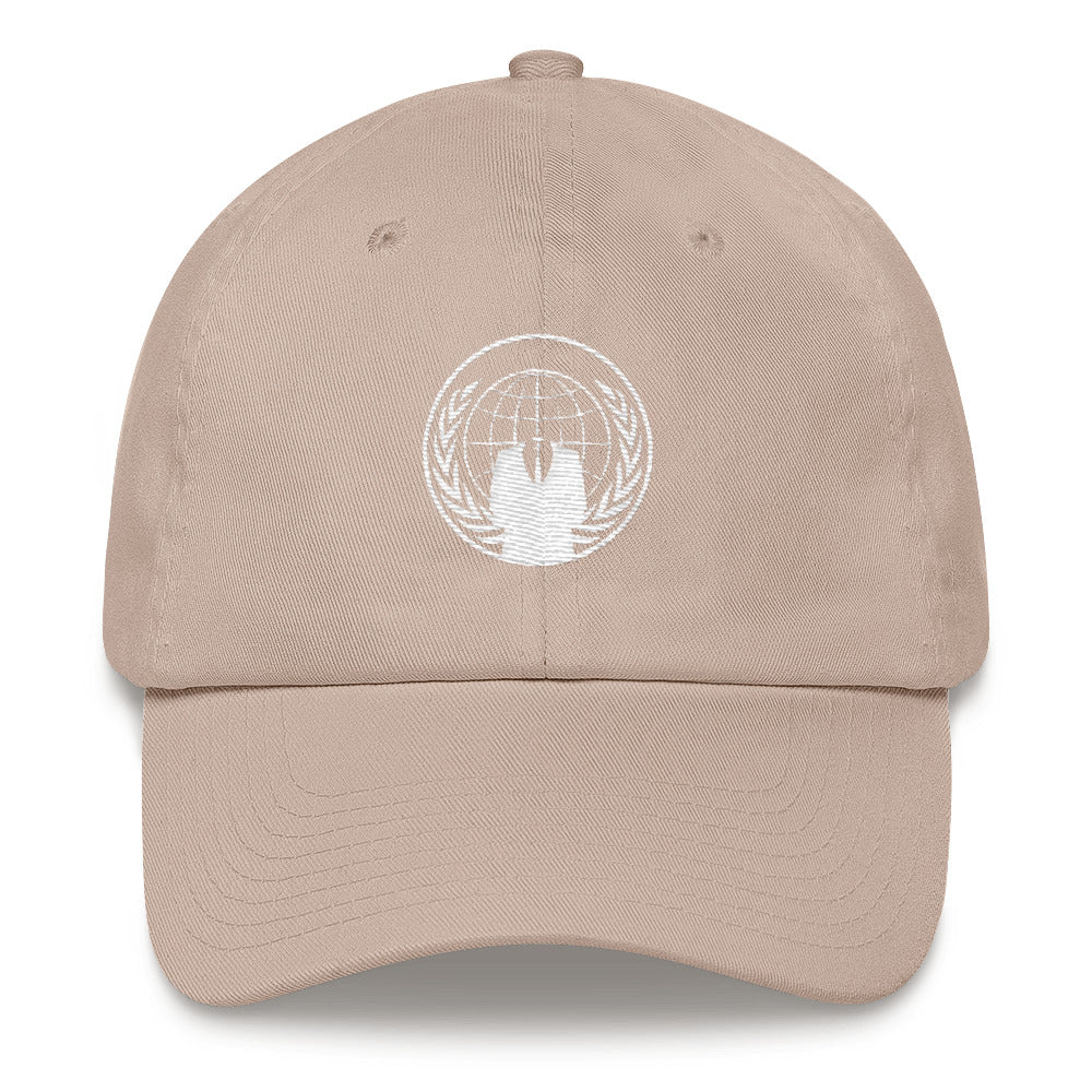Anonymous Decentralized International Hacktivist Group Dad Hat - Trendy Tees