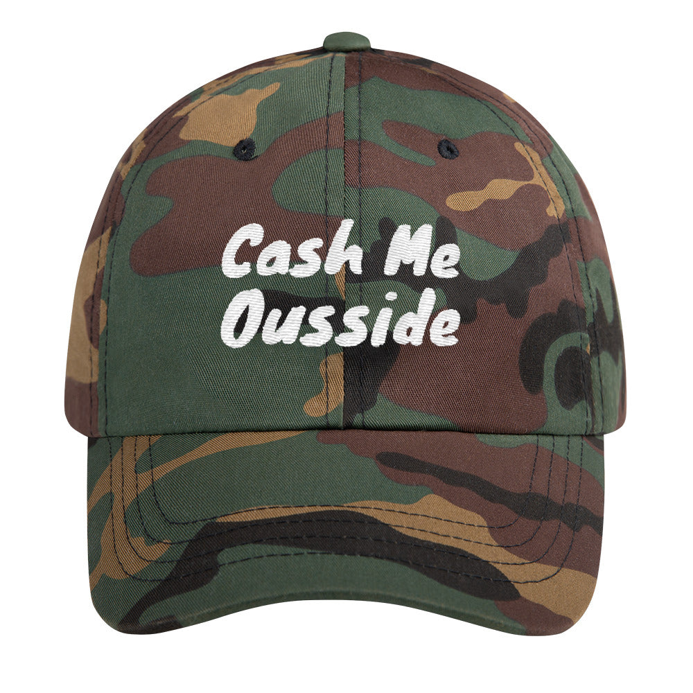 Catch Me Outside How Bow Dah Lit Dad Hat - Trendy Tees
