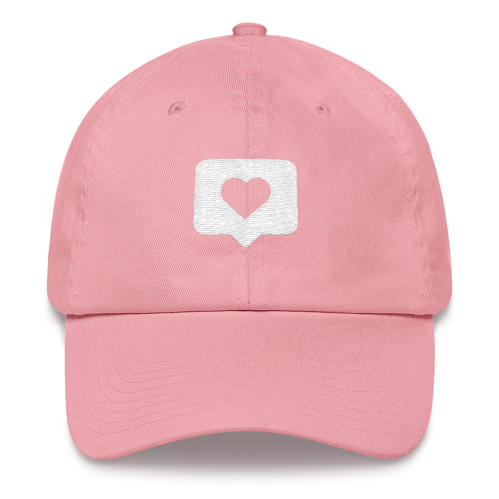 Tap Twice Embroidered Dad Hat