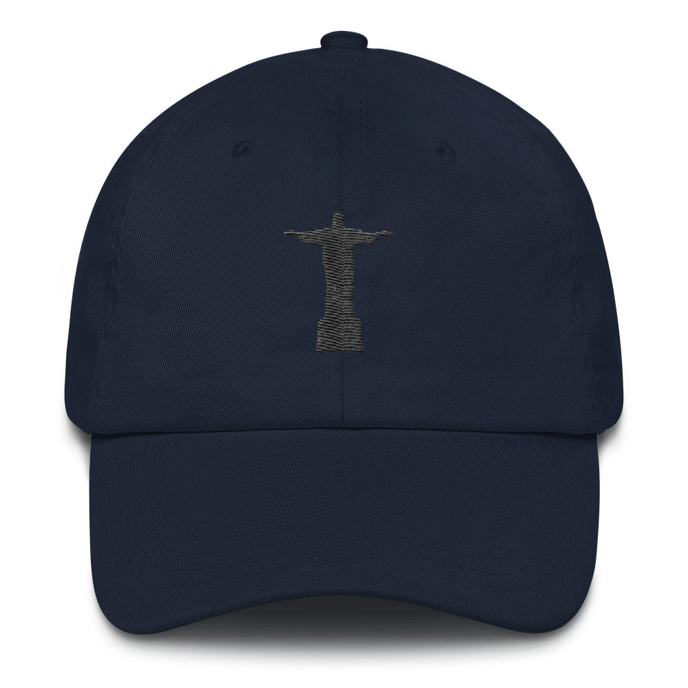Christ The Redeemer Embroidered Dad Hat - Trendy Tees