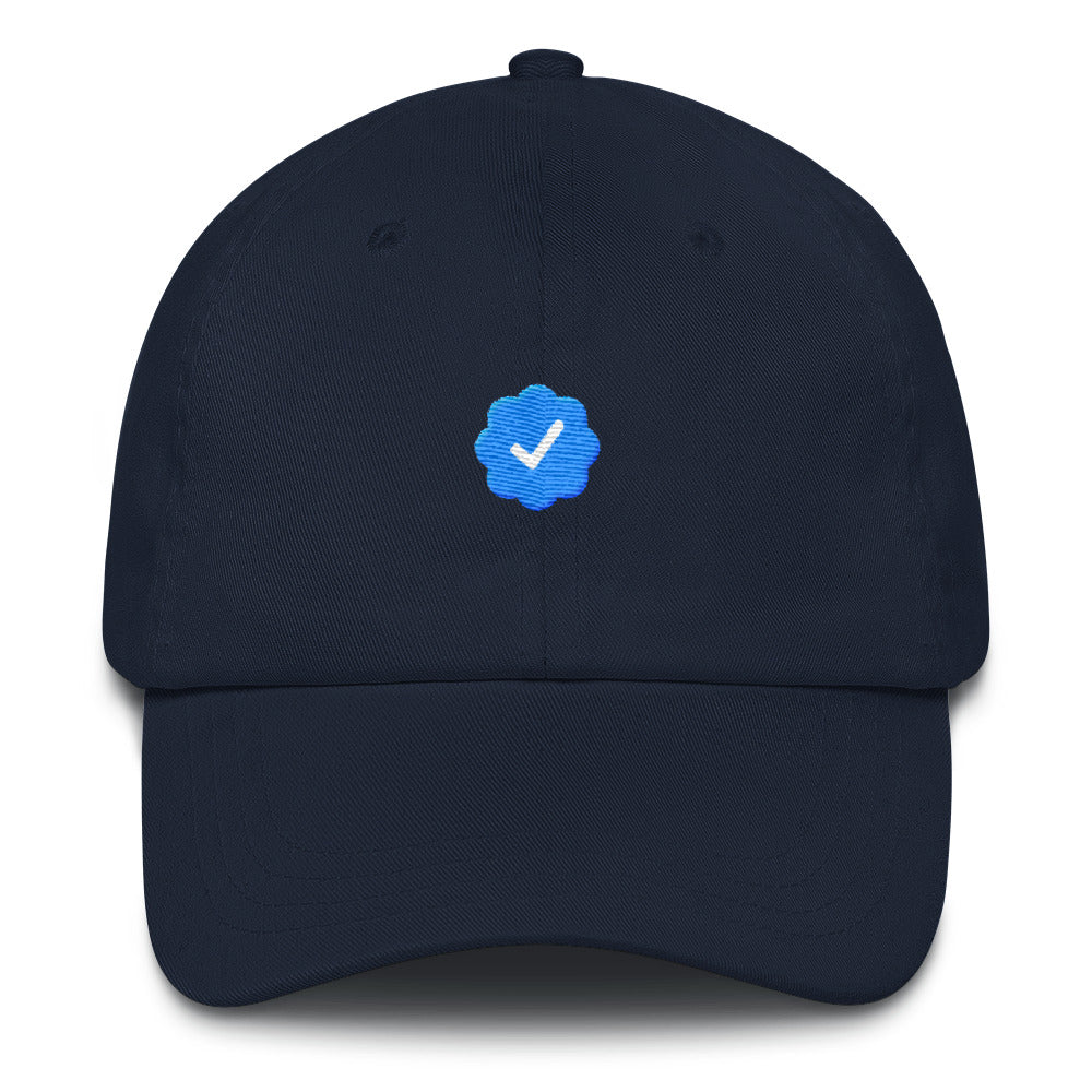 I'm Verified InstaFamous Lit Dad Hat - Trendy Tees
