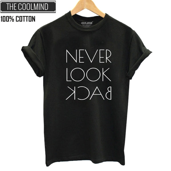 Never Look Back Women's Graphic T-Shirt