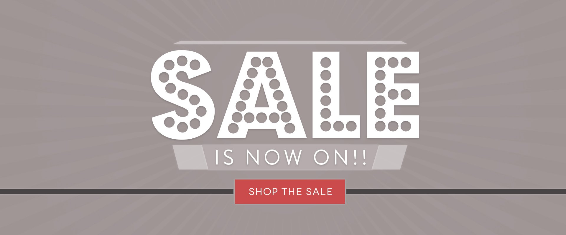 SALE IS NOW ON!!