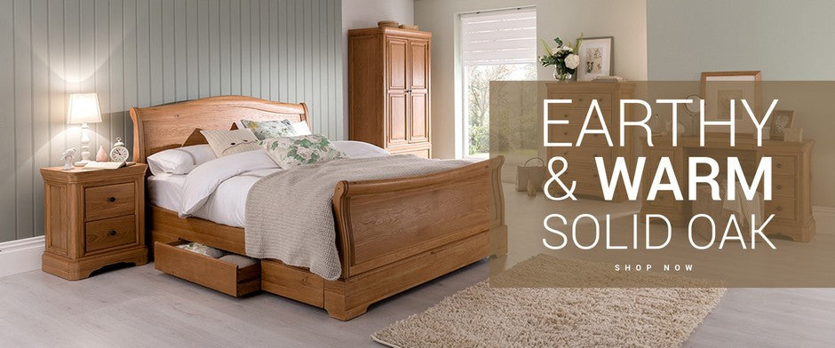 Earthy & Warm Solid Oak