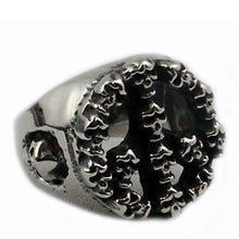Skull peace  anello ring - Ghettoblastershop