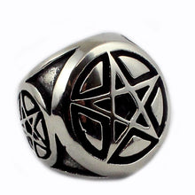 Pentagram anello ring - Ghettoblastershop
