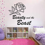 Beauty and the Beast (Flower) - Kreative Decals
