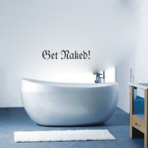 Get Naked - Kreative Decals