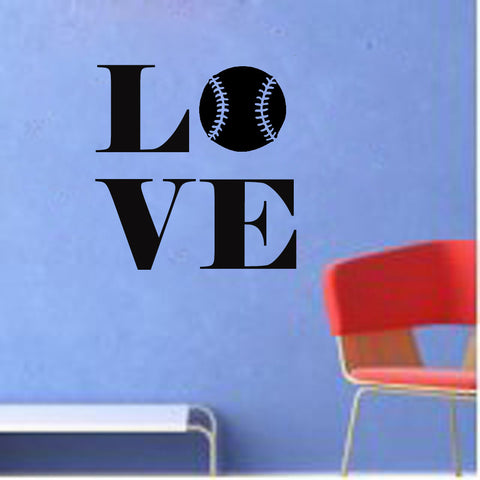 Love Baseball - Kreative Decals