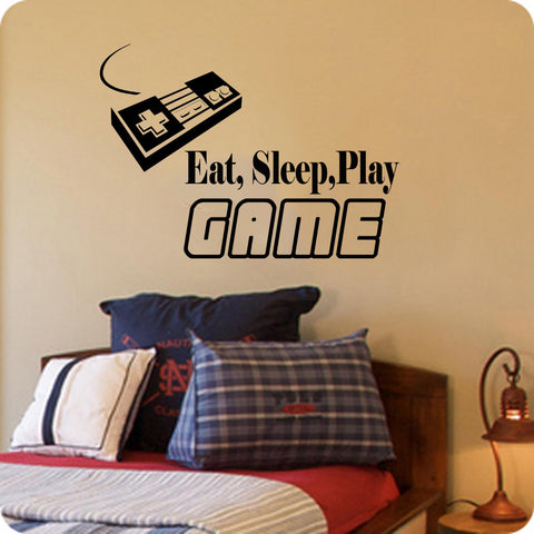 Eat, Sleep, Play Game on sale Nintendo Controler - Kreative Decals