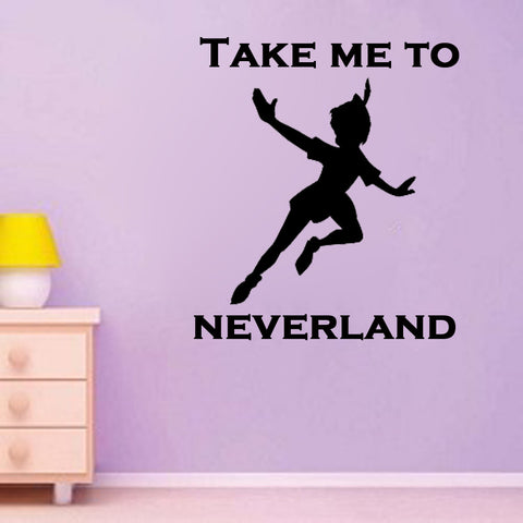 Take Me to Neverland - Kreative Decals