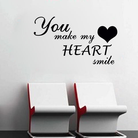 You Make My Heart Smile - Kreative Decals
