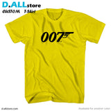 007 Logo for Custom T-Shirt