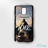 100 years of paramount vertical for Samsung Galaxy Note 2/Note 3/Note 4/Note 5/Note Edge phonecases
