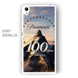 100 years of paramount vertical for Sony Xperia Z1/Z2/Z3 phonecases