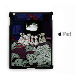 101 Dalmation Watching TV together for custom case iPad 2/iPad 3/iPad 4